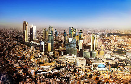 Amman, the future Central Business District, Abdali, Jordan