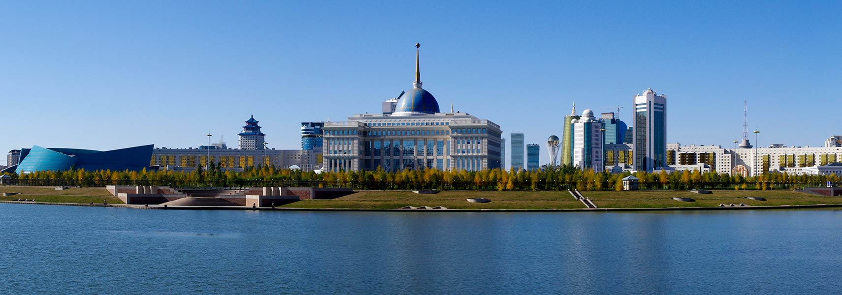 Kazakhstan government headquarters in Astana