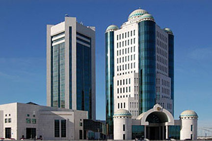 Google Map of Astana, Kazakhstan - Nations Online Project