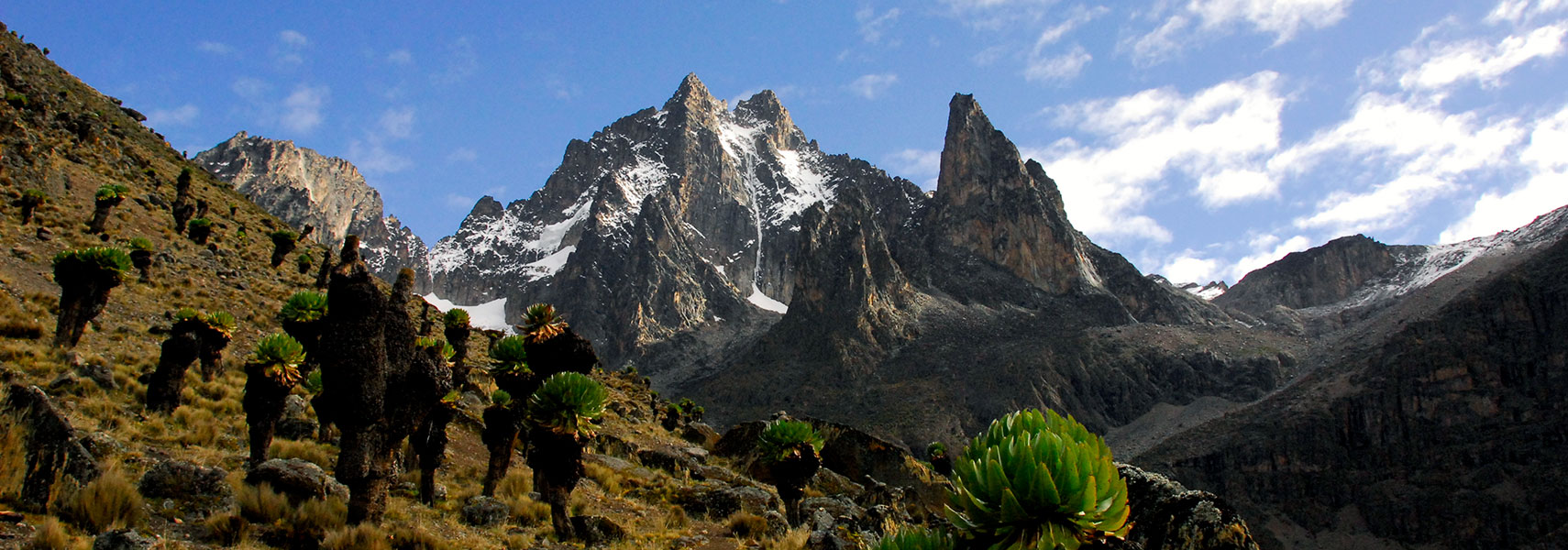 Mount Kenya highest mountain in Kenya