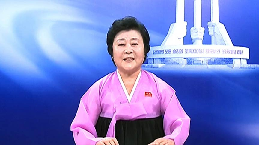 North Korea TV anchor Ri Chun-hee