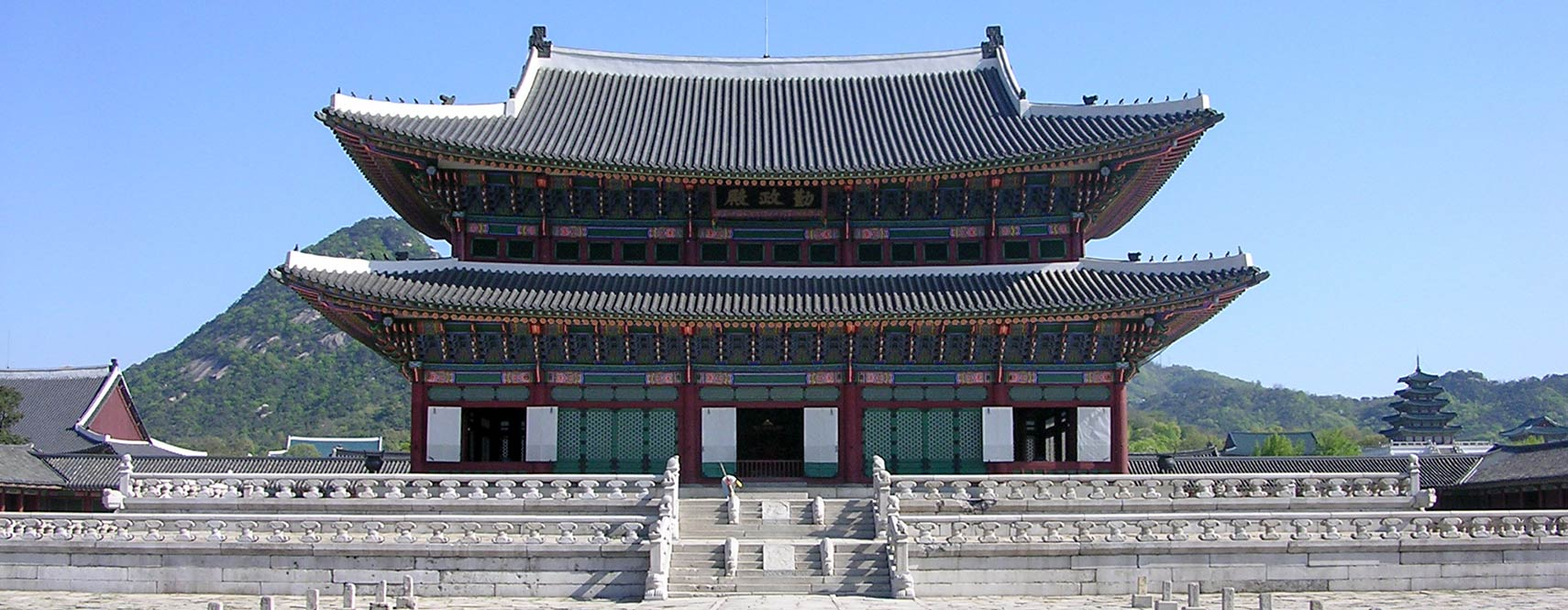 Gyeongbokgung royal palace in Seoul, South Korea