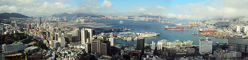 Google Map Of Busan South Korea Republic Of Korea Nations - Busan map