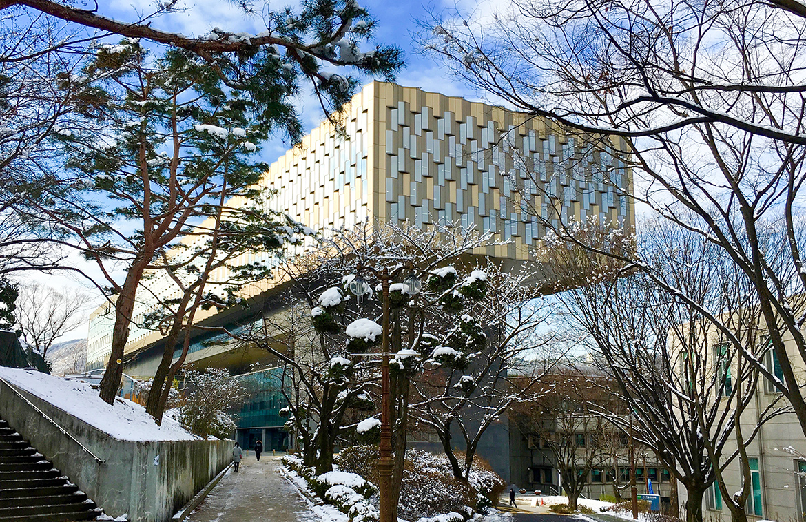 Library building of Seoul National University (SNU)