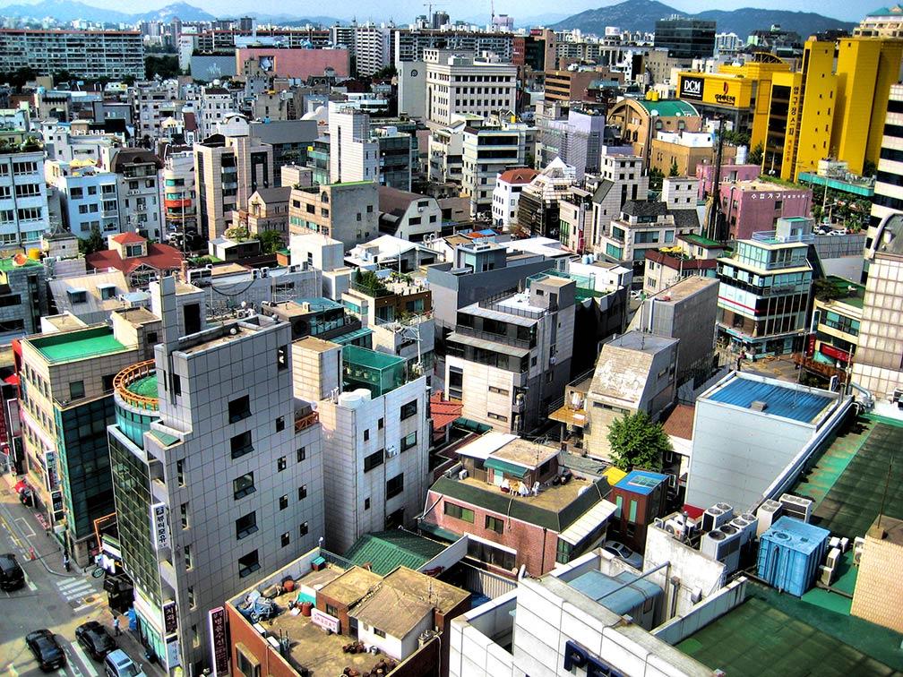 Dzielnica Gangnam w Seulu