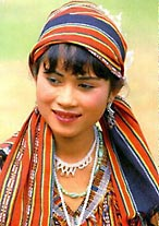 Lao Theung Lady