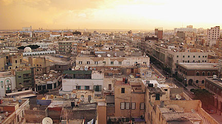 Google Map Of Tripoli Libya Nations Online Project