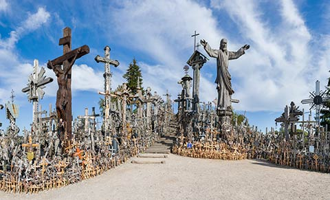 Hill of Crosses near Siauliai