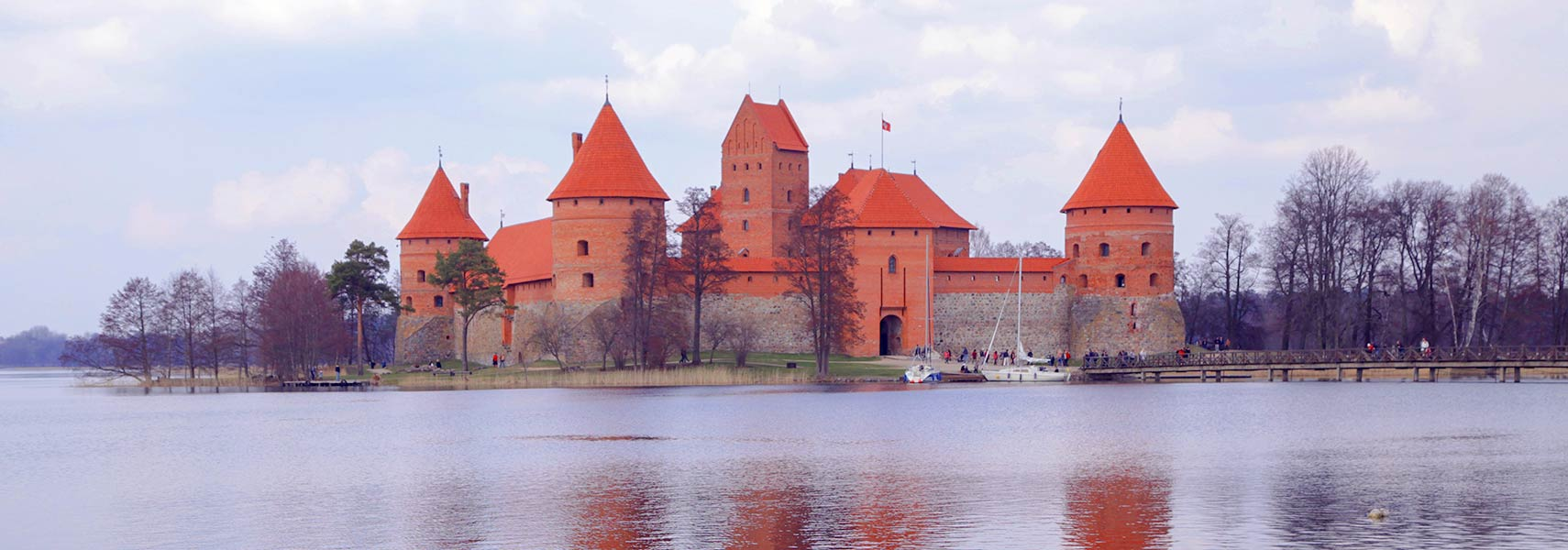 Trakai Castle panorama