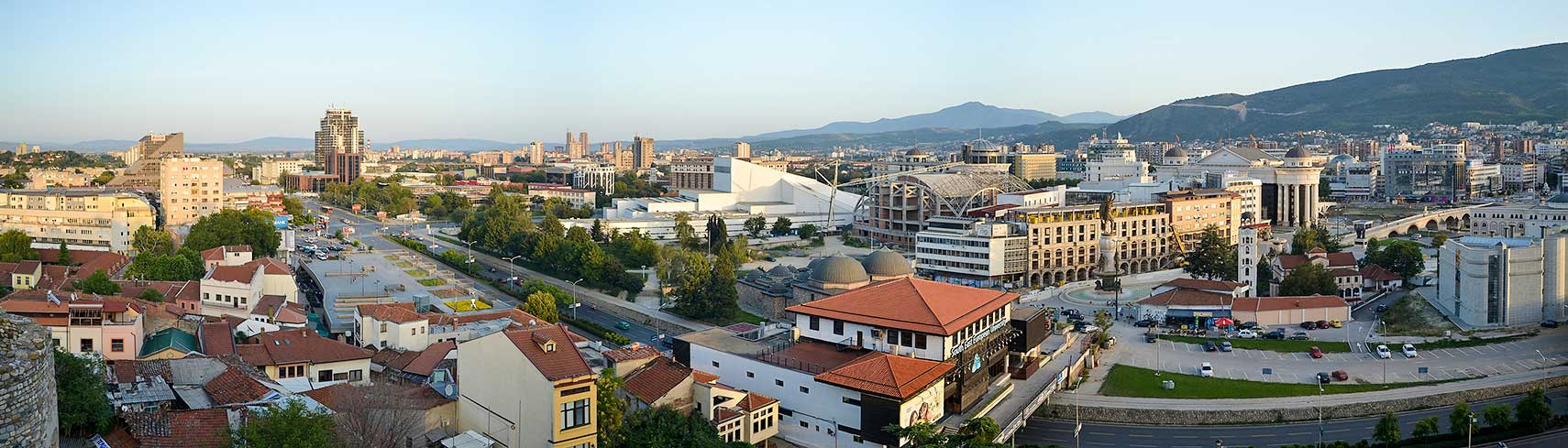 Google Map of Skopje, Republic of Macedonia - Nations Online