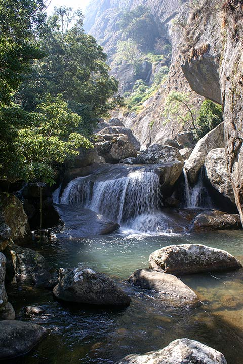 Mulanje waterfall
