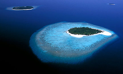 Maldives areal