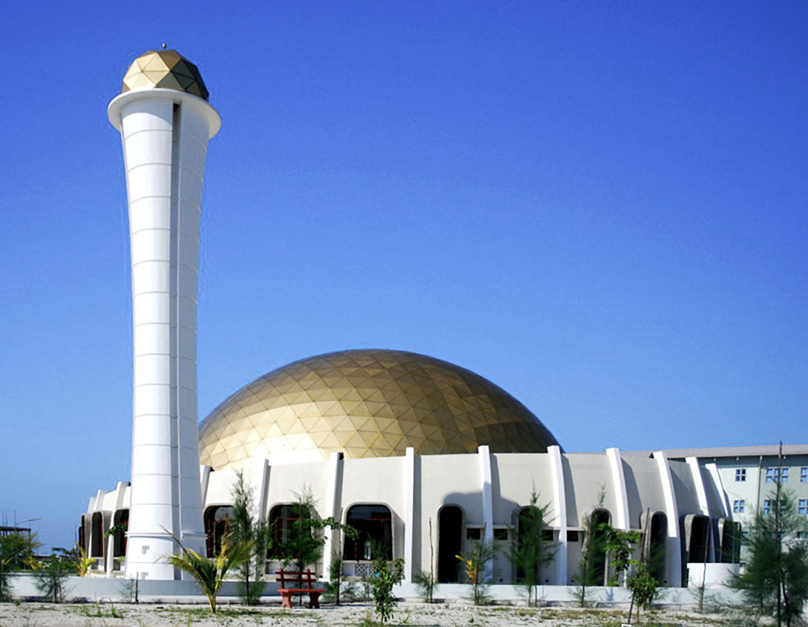 Mosque in Hulhumalé, Maldives