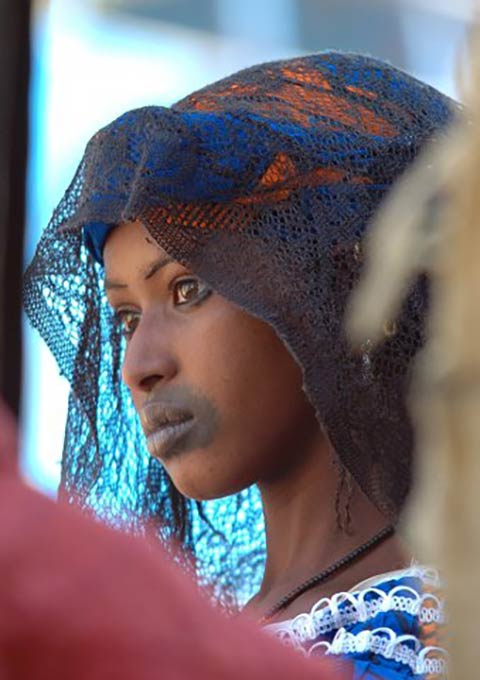 Lady from Northern Mali