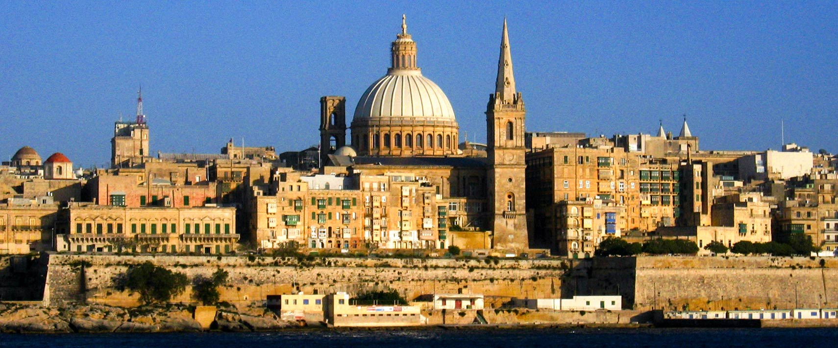 Google Map of the City of Valletta Malta  Nations Online Project