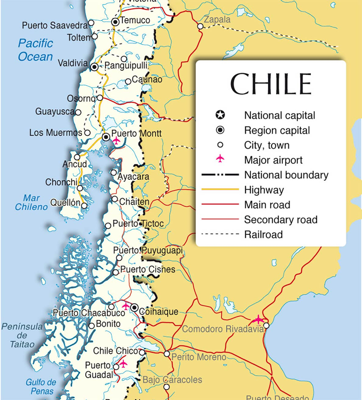 Chile Country Profile Destination Chile Nations Online Project