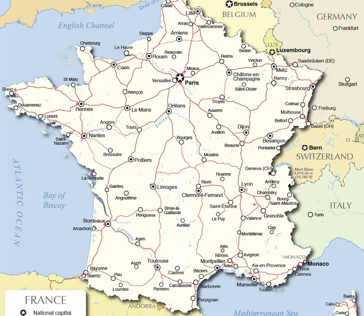 France Country Profile Nations Online Project