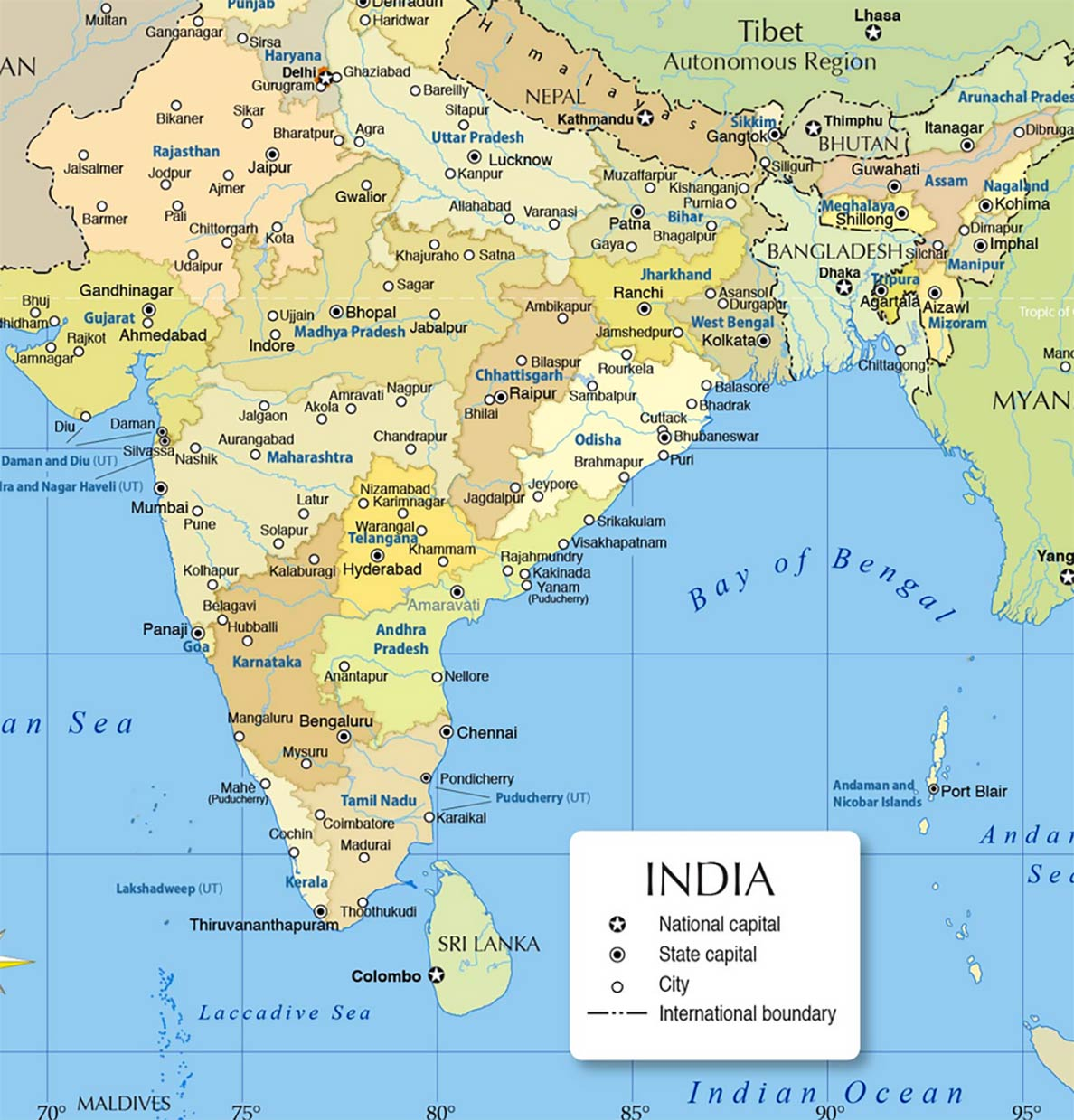 India - Country Profile - Nations Online Project