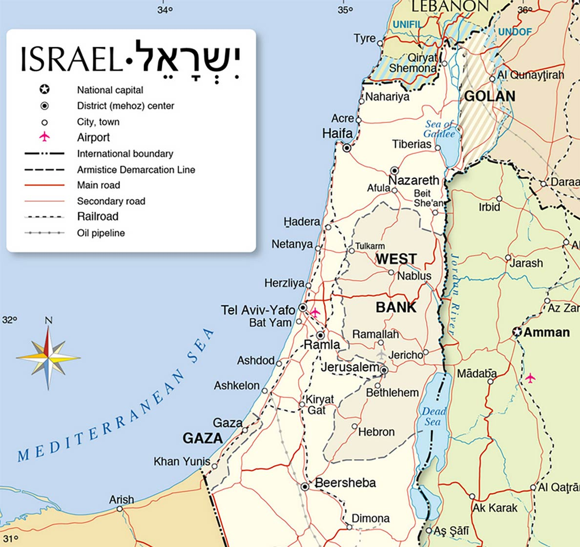 Israel - Country Profile - Destination Israel - Nations ...