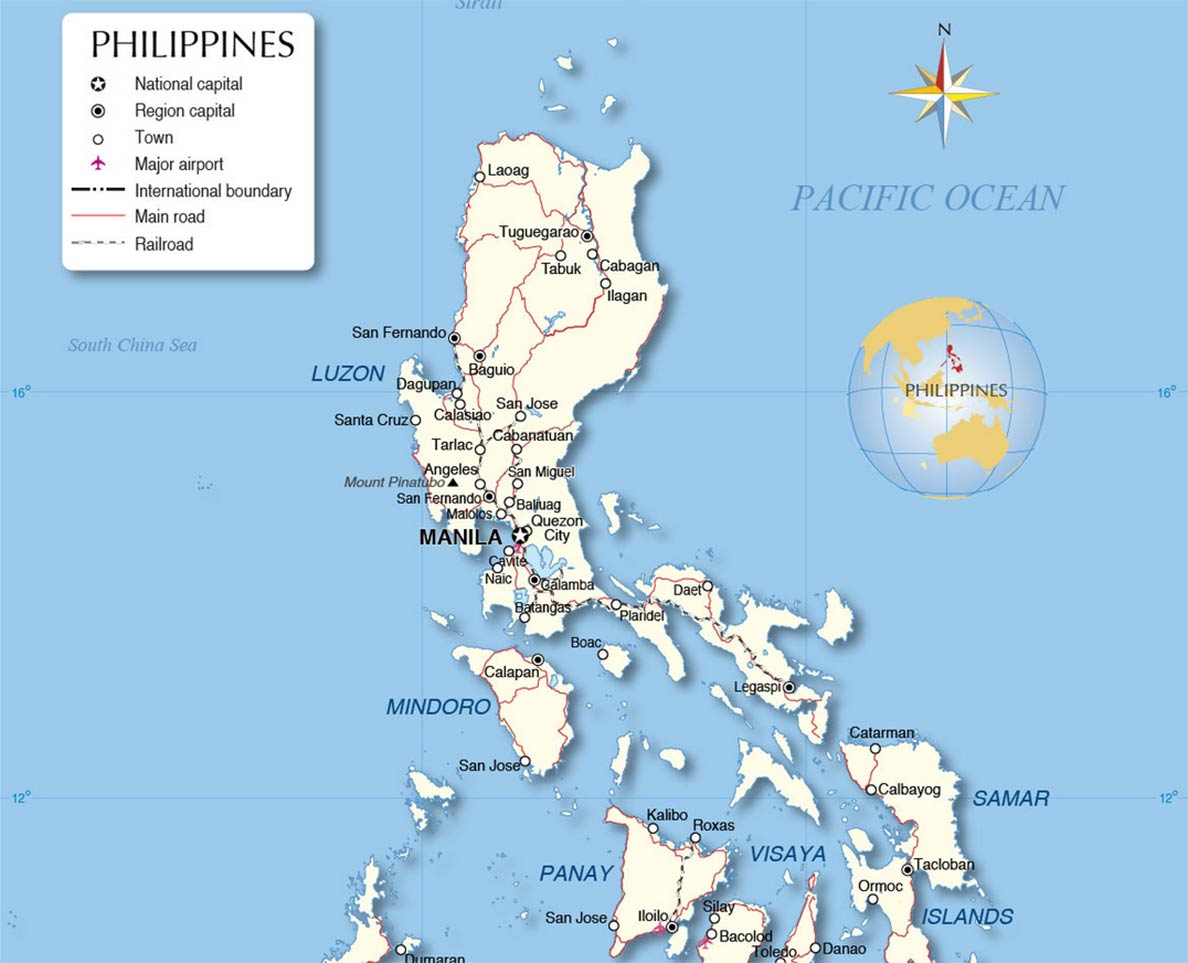 Philippines - Country Profile - Nations Online Project on taiwan map, senegal map, cagayan de oro map, togo map, asia map, dominican republic map, south america map, luzon map, syria map, mindanao map, zimbabwe map, far east map, rwanda map, switzerland map, poland map, south pacific map, ukraine map, france map, india map, mexico map, sudan map, peru map, yemen map, turkey map, cuba map, thailand map, japan map, nigeria map, sweden map, australia map, vietnam map, portugal map, korea map, puerto rico map, china map, caribbean map, zambia map, california map, saudi arabia map, spain map,