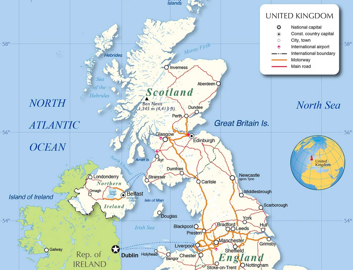 Picture of: United Kingdom Country Profile Nations Online Project