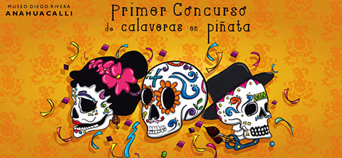 Contest of Skulls in Piñata