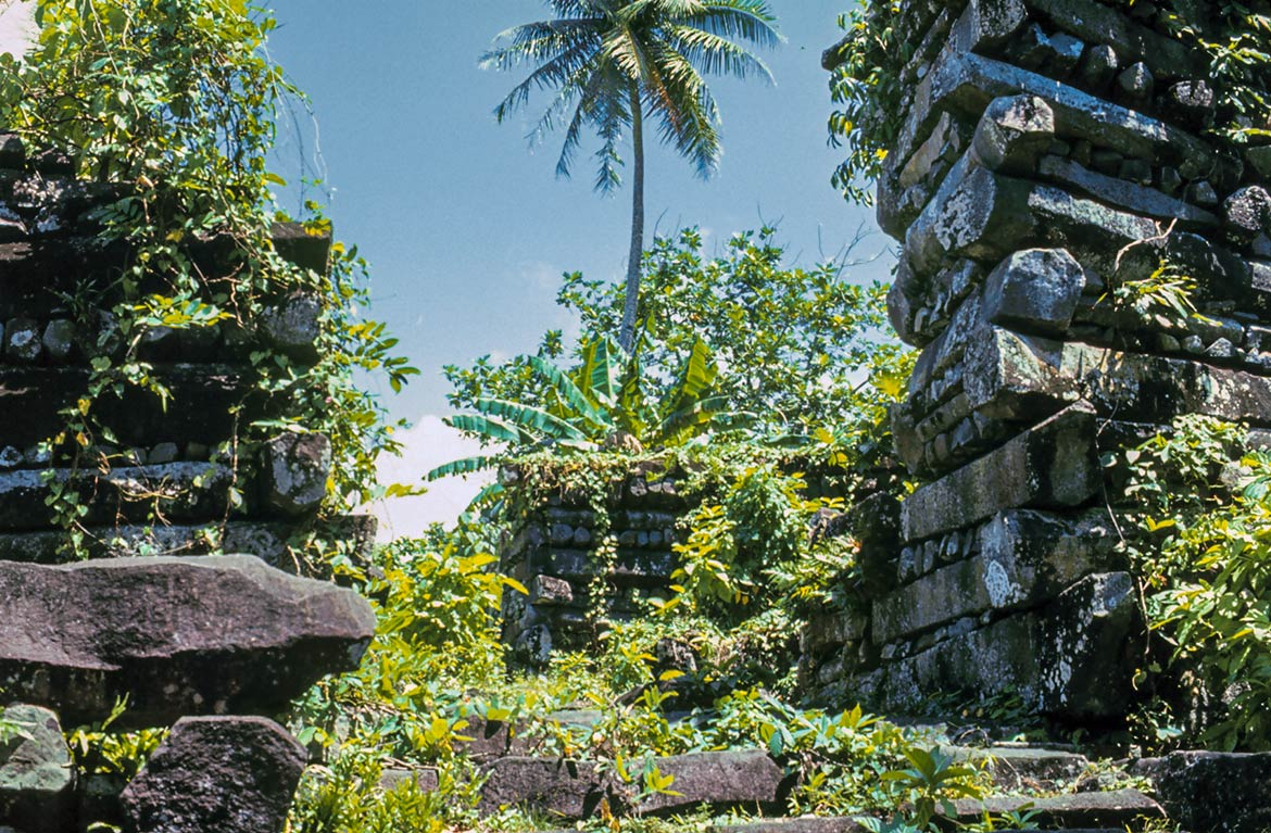 Nan Madol archaeological site on Pohnpei