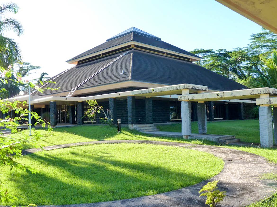 Congress building of the Federated States of Micronesia