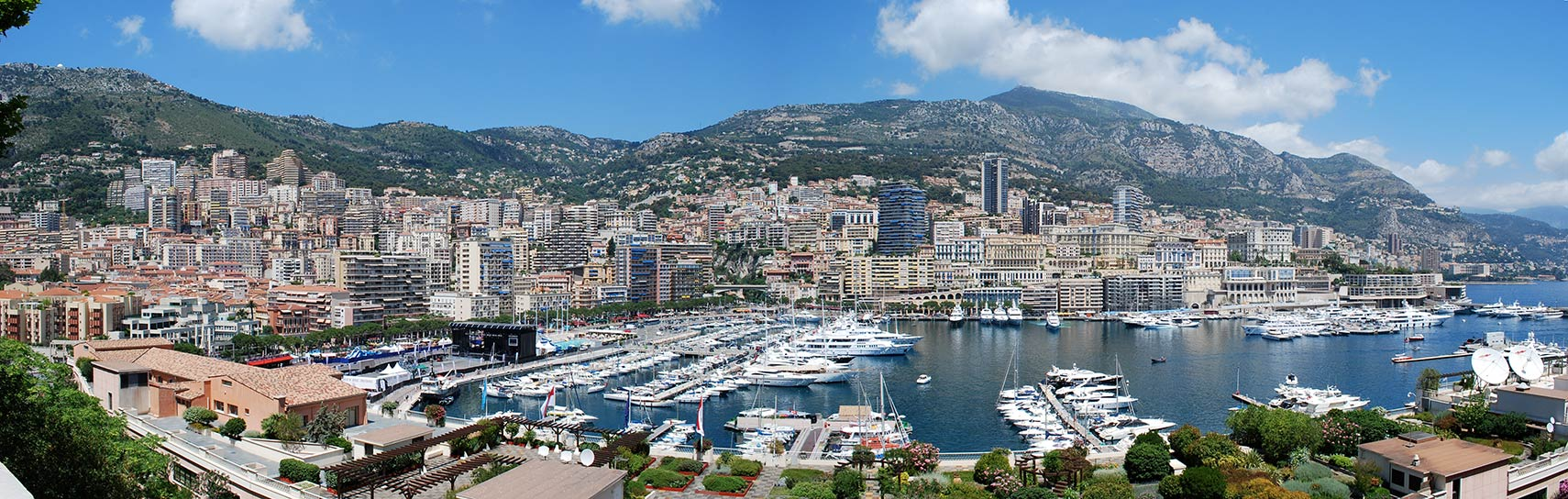 La Condamine with Port Hercules, Monaco