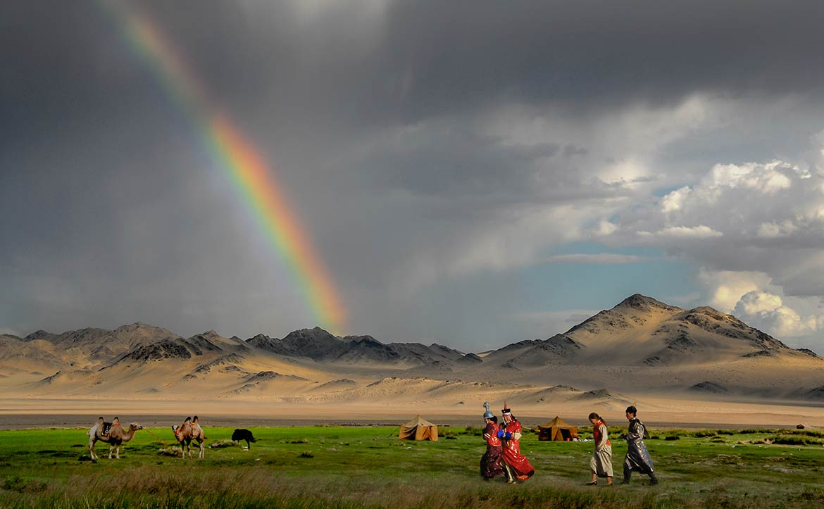 Naadam Festival in Mongolia's Khovd Province