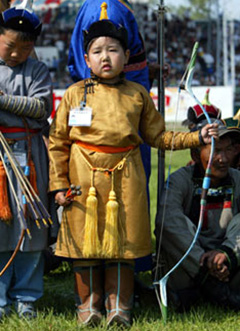 Little Mongol Warrior