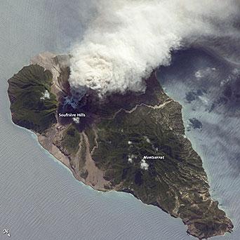 Google Map Of The Caribbean Island Montserrat Nations Online Project - Montserrat map