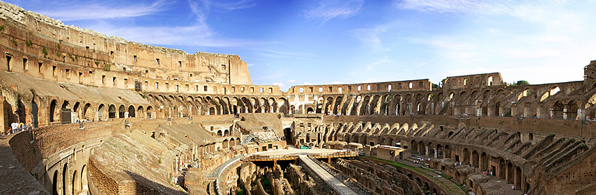 Colosseum or the Flavian Amphitheater