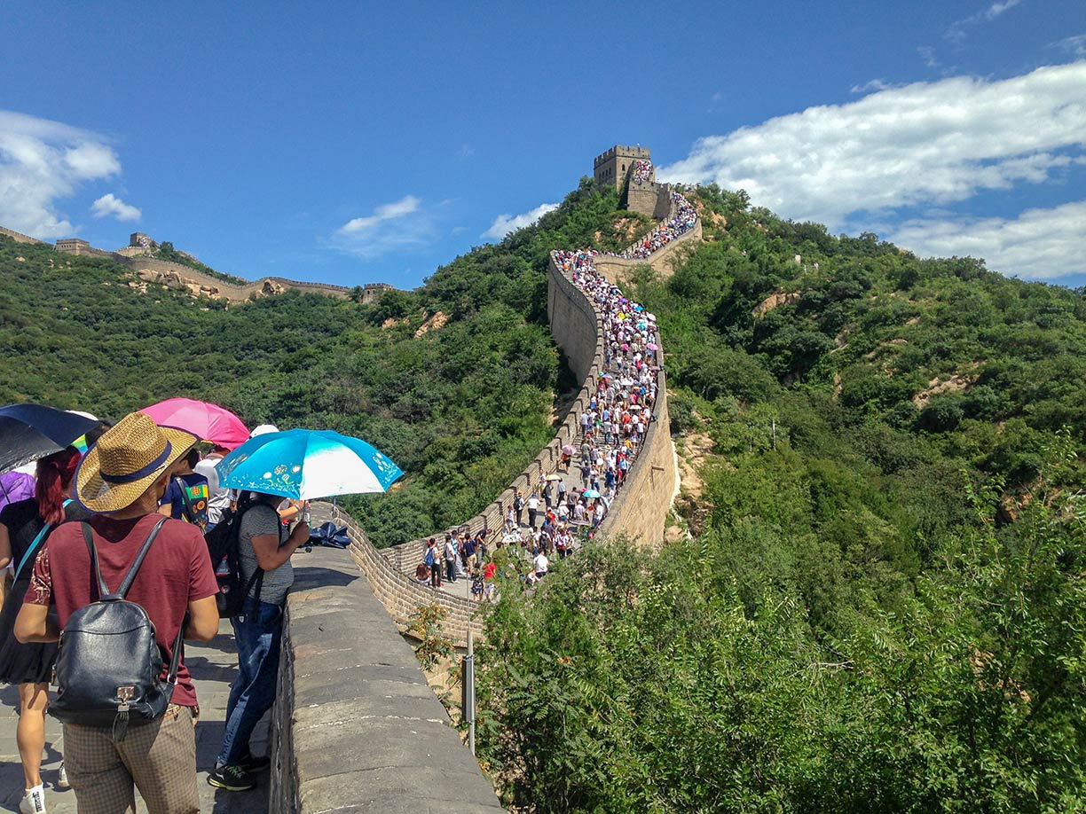 Famous Landmarks: The Great Wall of China - Nations Online Project