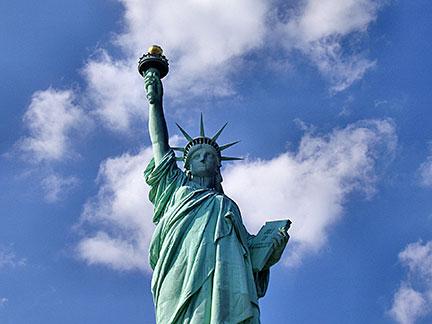 Famous Landmarks Statue Of Liberty New York City Usa Nations