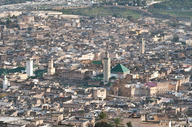 Phosphate mining in morocco