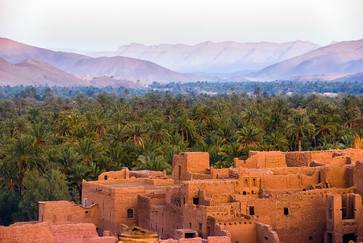 Tamnougalt, Draa River valley, Atlas Mountains, Morocco