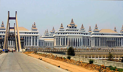 Hluttaw Government Complex in Naypyidaw