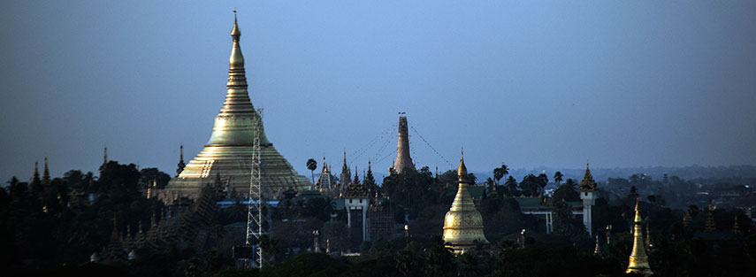 Famous landmarks satellite view of shwedagon pagoda yangon famous landmarks satellite view of shwedagon pagoda yangon rangoon myanmar burma publicscrutiny Image collections