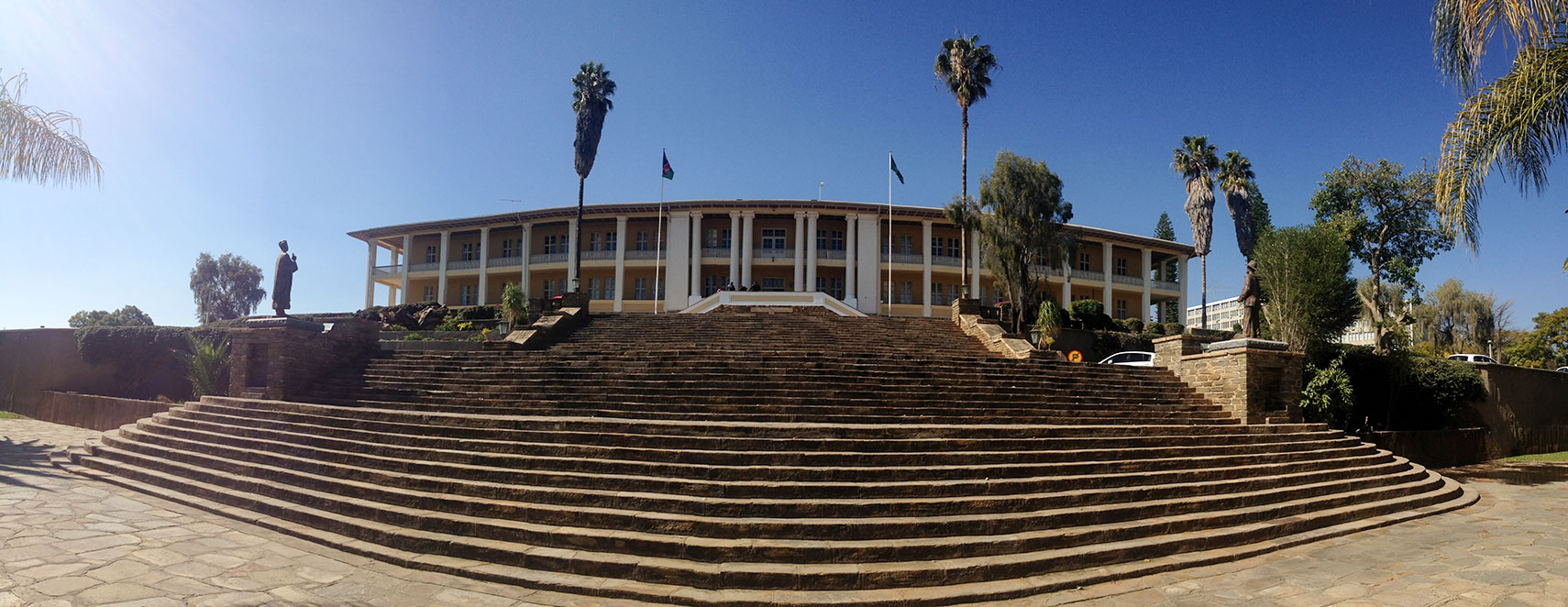 Tintenpalast, Namibia's parliament in Windhoek