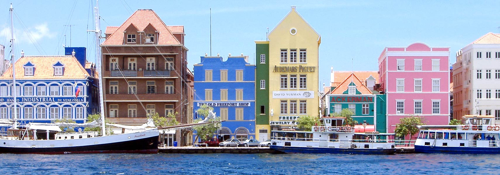 Willemstad  harbour, Curacao