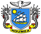 Nouméa city Flag