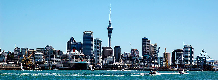 Google Map of Auckland, New Zealand - Nations Online Project
