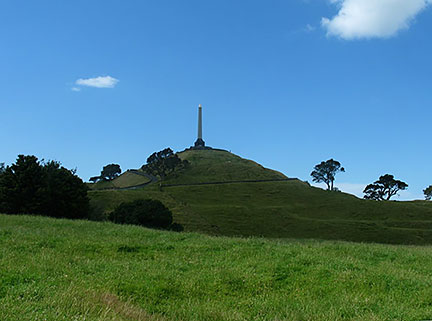 One Tree Hill (Maungakiekie) in Auckland