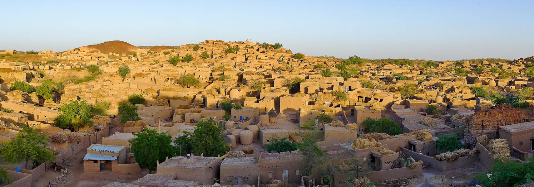 Panorama of Bouza village, Tahoua Region, Niger