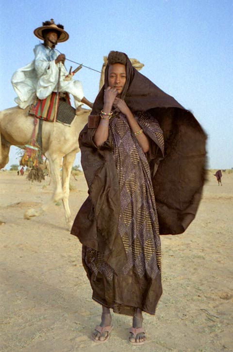 Young Wodaabe woman, Niger