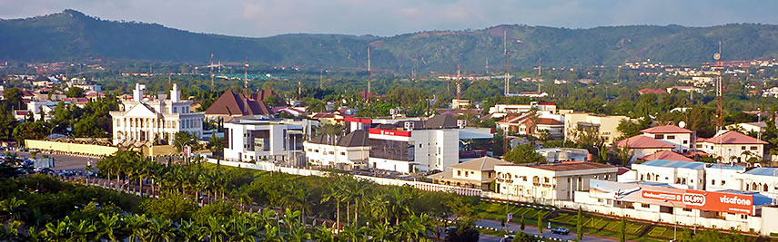 View of Abuja, Federal Capital Territory (FCT), Nigeria