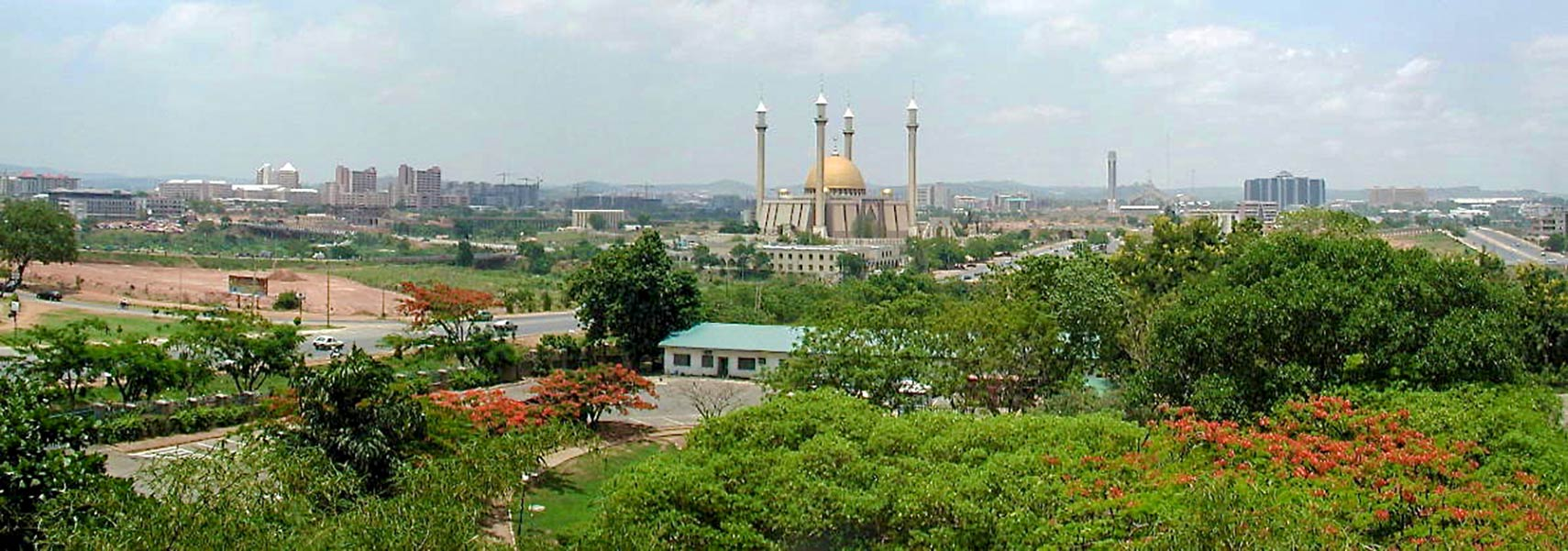 Nigerian National Mosque, city of Abuja