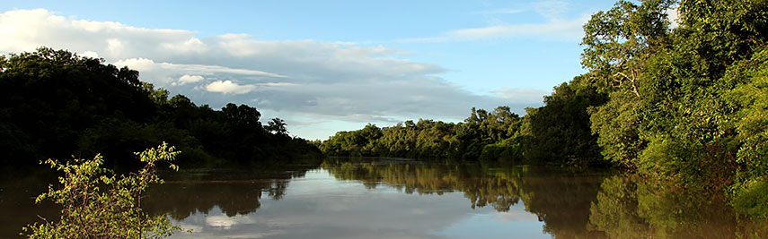 River Oli in Kainji National Park, Nigeria