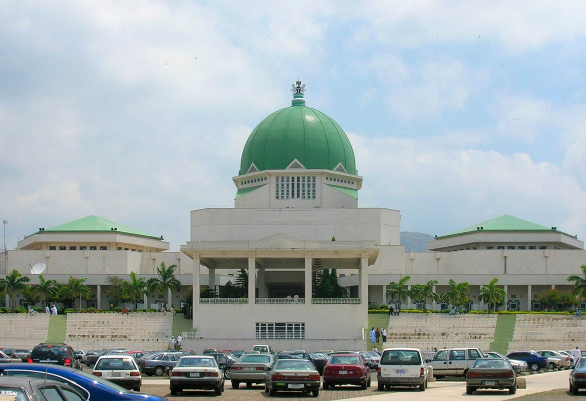 House of Representatives (lower house) building in Abuja, Nigeria